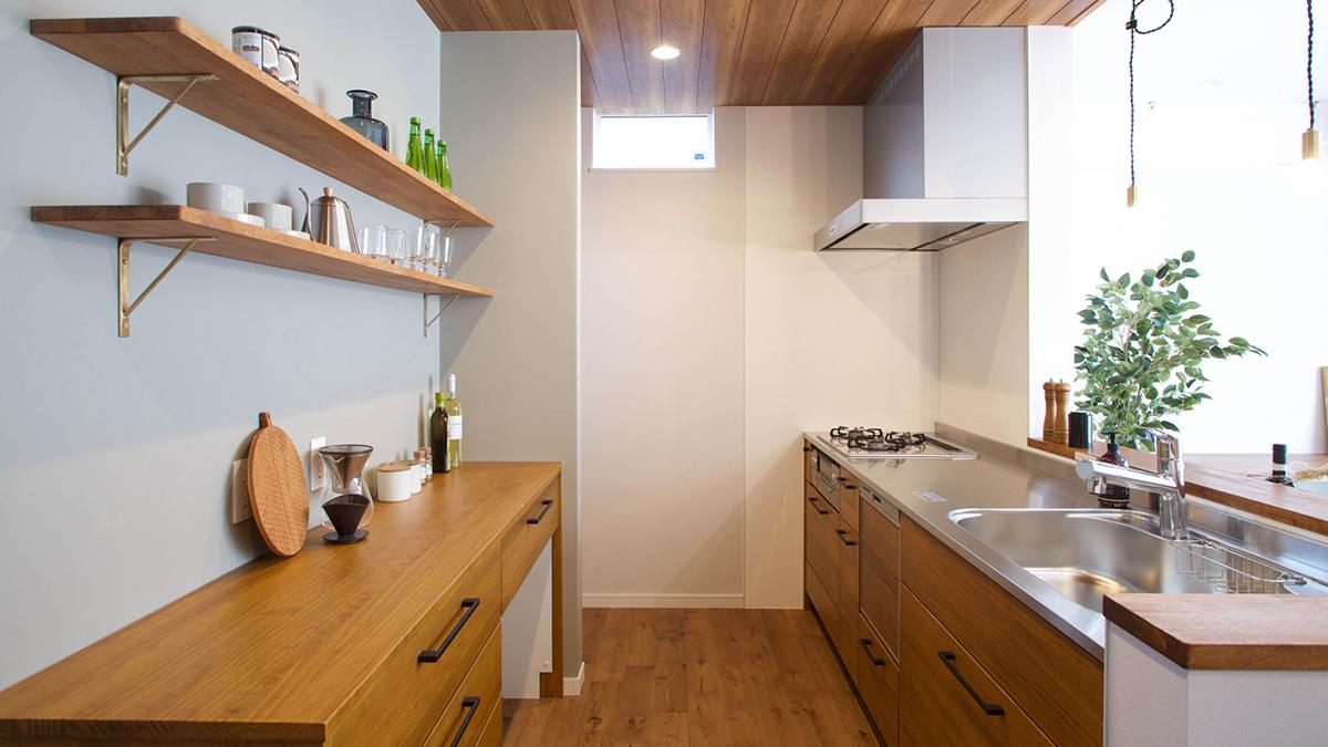 無垢キッチン